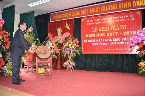 Khai giảng năm học mới 2017 – 2018 và Kỷ niệm 35 năm ngày Nhà giáo Việt Nam
