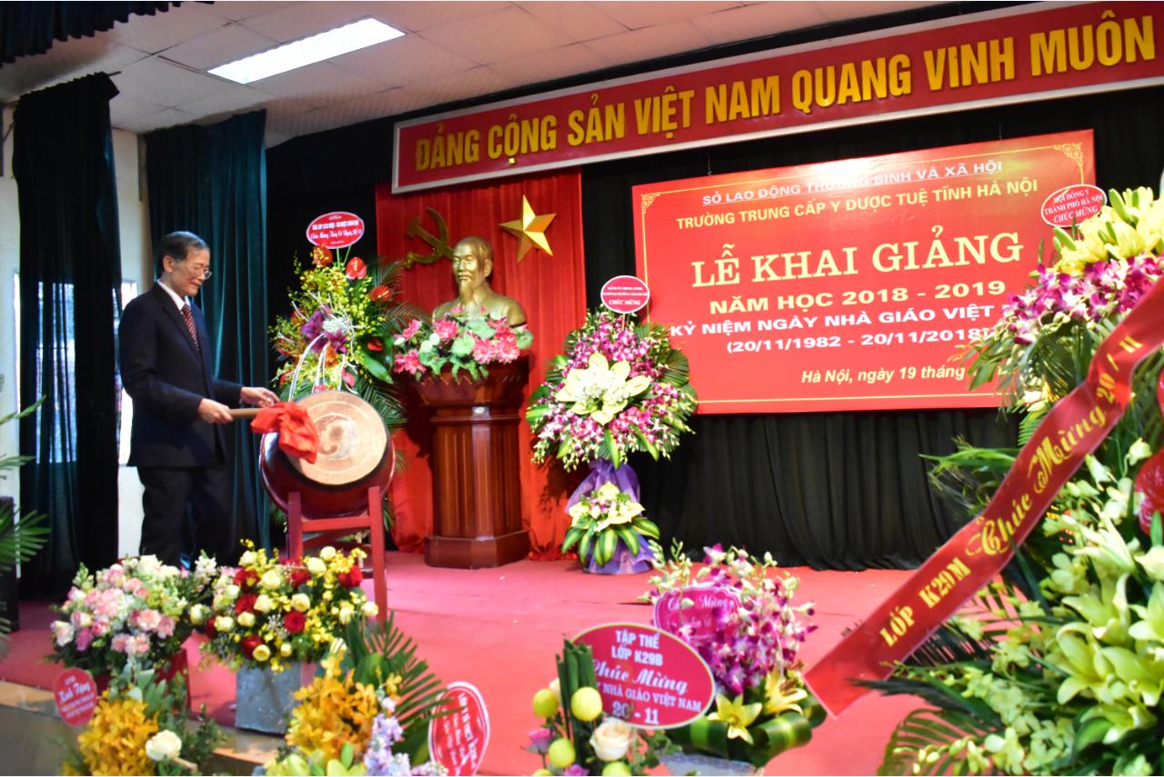 Lễ khai giảng năm học 2018-2019 và kỷ niệm ngày Nhà giáo Việt Nam 20-11