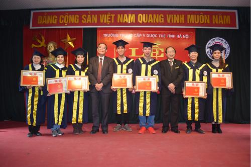 Lễ tốt nghiệp khóa học 2015 - 2017