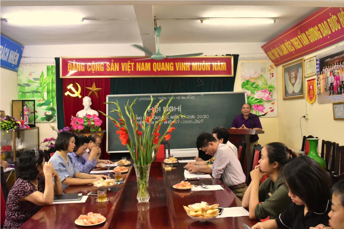 Chi hội Đông y trường TCYD Tuệ Tĩnh Hà Nội: Tổng kết công tác nhiệm kỳ 2015 – 2020 và kiện toàn BCH nhiệm kỳ 2020 – 2025