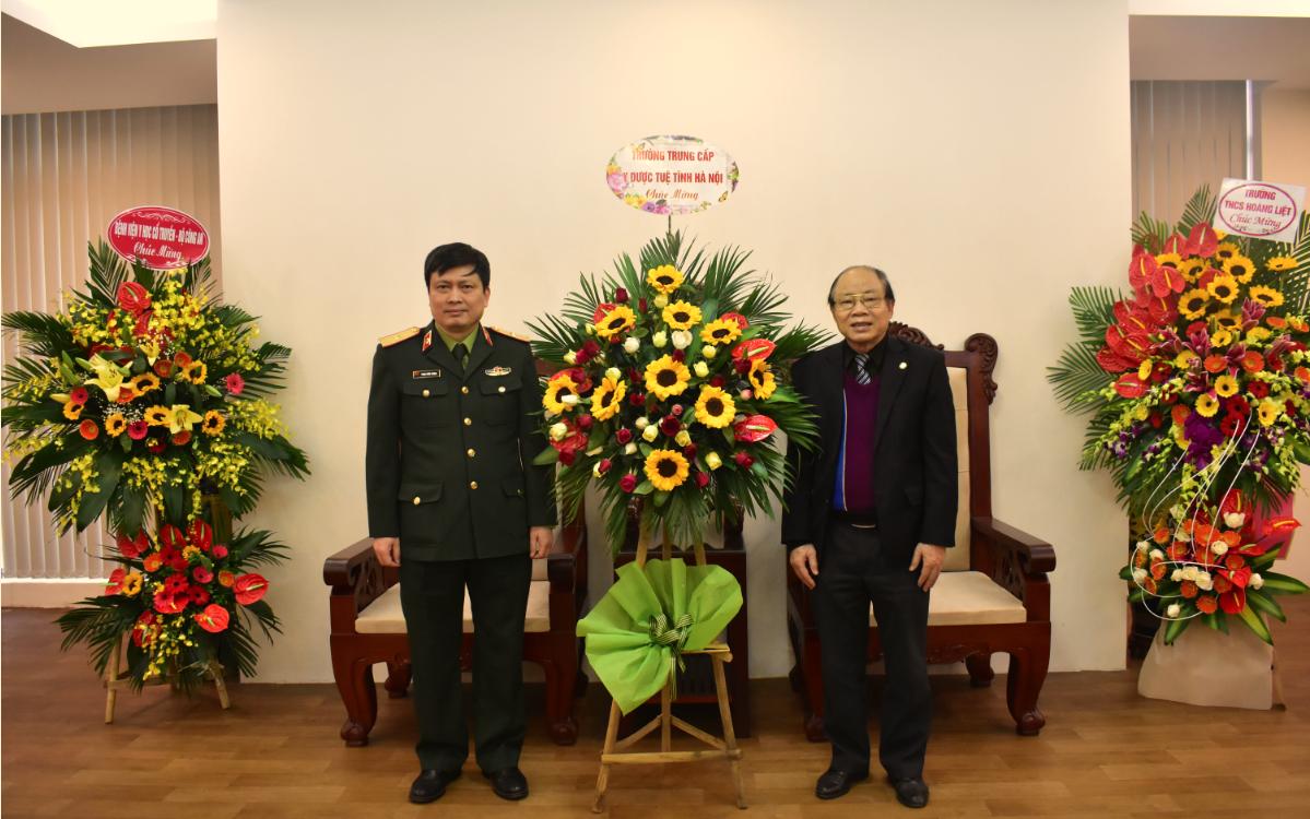 Trường TCYD Tuệ Tĩnh Hà Nội chúc mừng Ngày thành lập Quân đội Nhân dân Việt Nam (22/12/1944 – 22/12/2020)