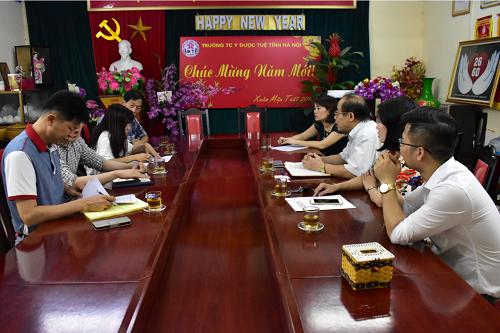Trung cấp Y Dược Tuệ Tĩnh Hà Nội ký kết hợp tác Trường Cao đẳng - Đại học Vision và Đại học Wonk Wang