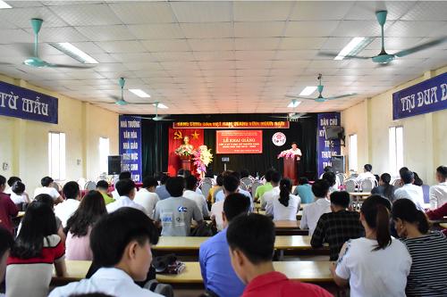 Khai giảng Lớp Y sỹ y học cổ truyền K30A khóa học 2018 - 2020