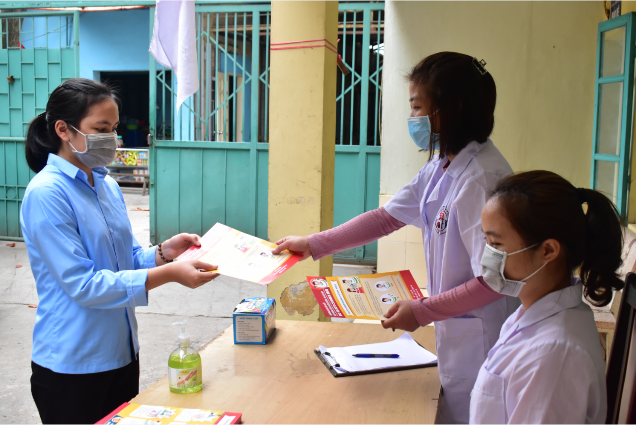 Trường TCYD Tuệ Tĩnh Hà Nội chủ động phòng chống dịch Covid-19