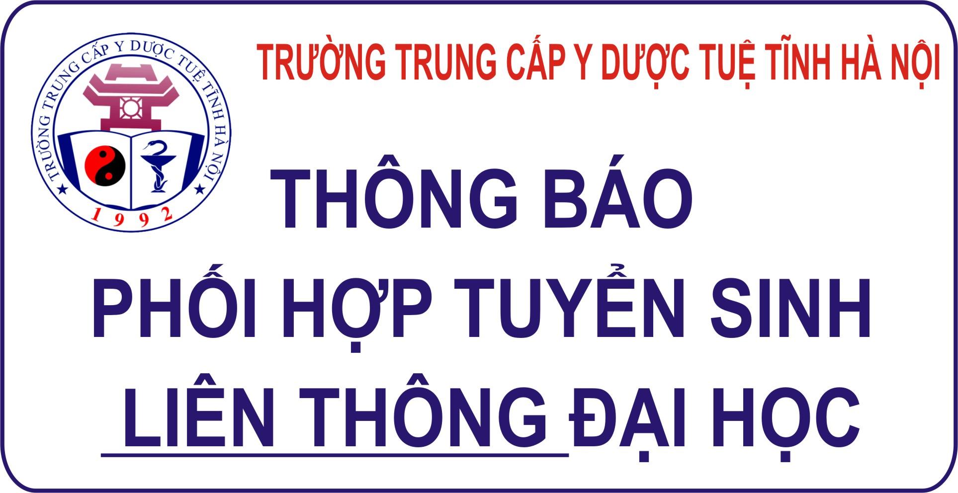 Đại học Y - Dược, Đại học Thái Nguyên: Tuyển sinh ngành Điều dưỡng liên thông từ trung cấp và cao đẳng lên đại học hình thức vừa làm vừa học năm 2021
